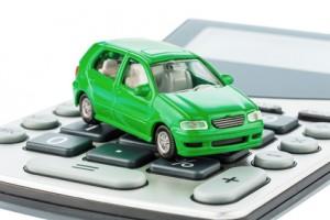 Auto und Taschenrechner