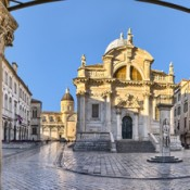 The Church of St. Blaise in Dubrovnik, Croatia